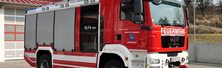 RLFA 3000 – das neue Fahrzeug der FF Lengenfeld