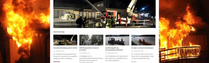 Die neue Homepage der FF Lengenfeld!