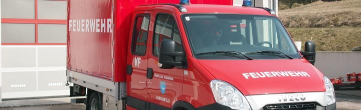 Das neue Versorgungsfahrzeug der FF Lengenfeld