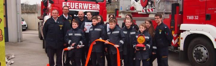 Wissenstest der Feuerwehrjugend in Langenlois