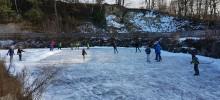 Eislaufen am 20. Jänner