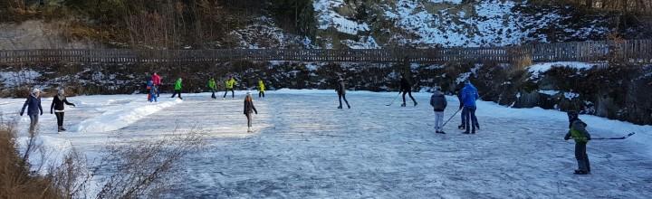 Eislaufen am 27. Jänner