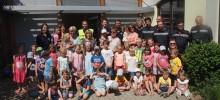 Evakuierungsübung im Kindergarten