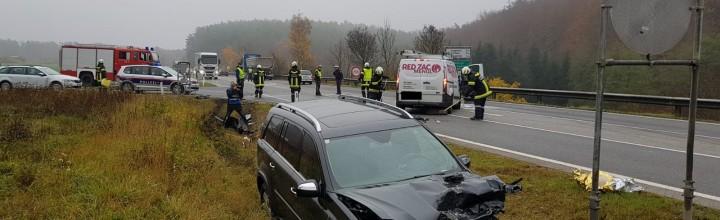 Verkehrsunfall B37/LH55