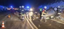 Verkehrsunfall B37 29. Jänner 2019