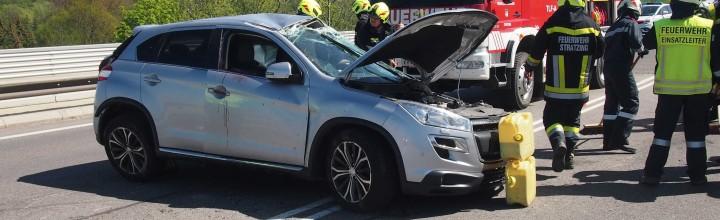 Verkehrsunfall B 37 – 25.04.2019