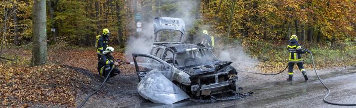 Fahrzeugbrand auf der L7039