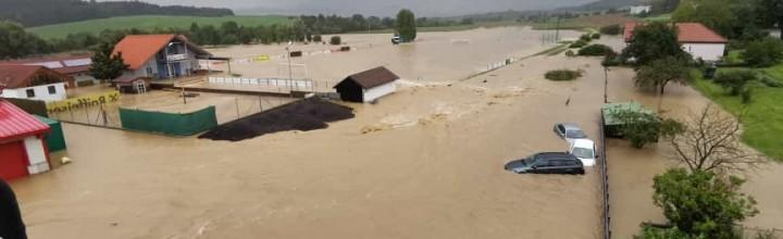 Hochwassereinsatz in Bischofstetten