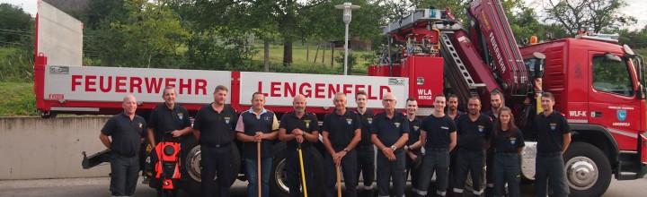 Feuerwehr bedankt sich für die Spende von Waldbrandausrüstung!