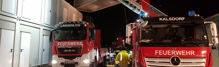 KHD-Einsatz nach Erdbeben in Kroatien