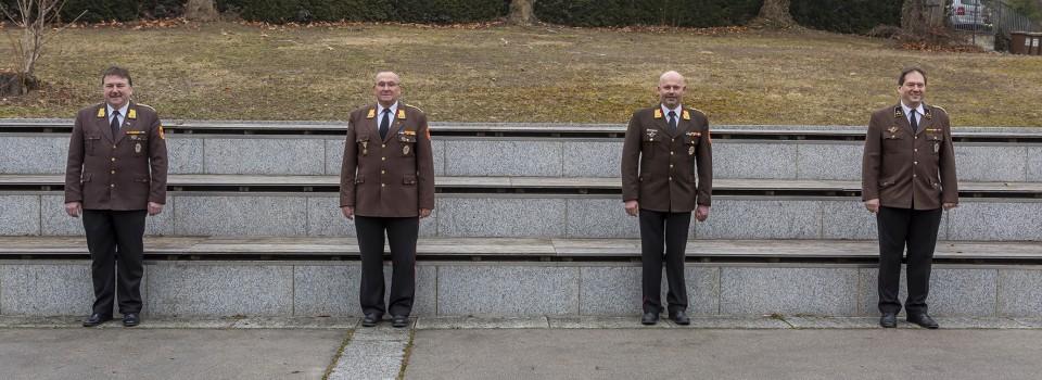 Wahlen im Bezirk, Abschnitt und Unterabschnitt des Feuerwehrbezirk Krems