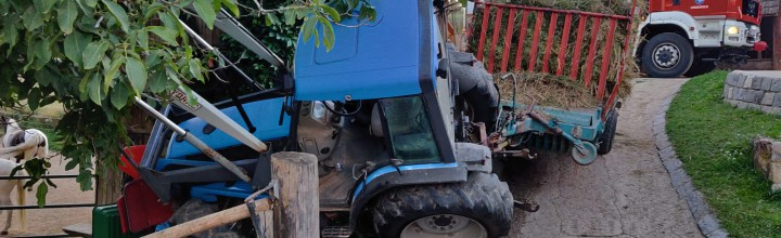 Traktorbergung in Lengenfeld