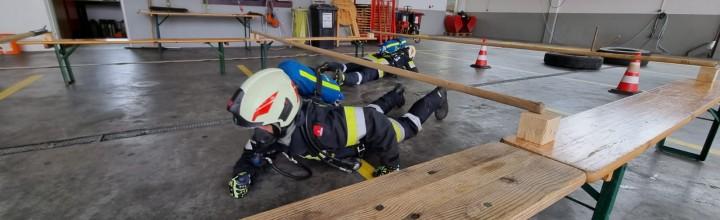 Erstmalige Durchführung des Finnen-Tests in der Feuerwehr Lengenfeld