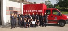 Spende für die Feuerwehrjugend